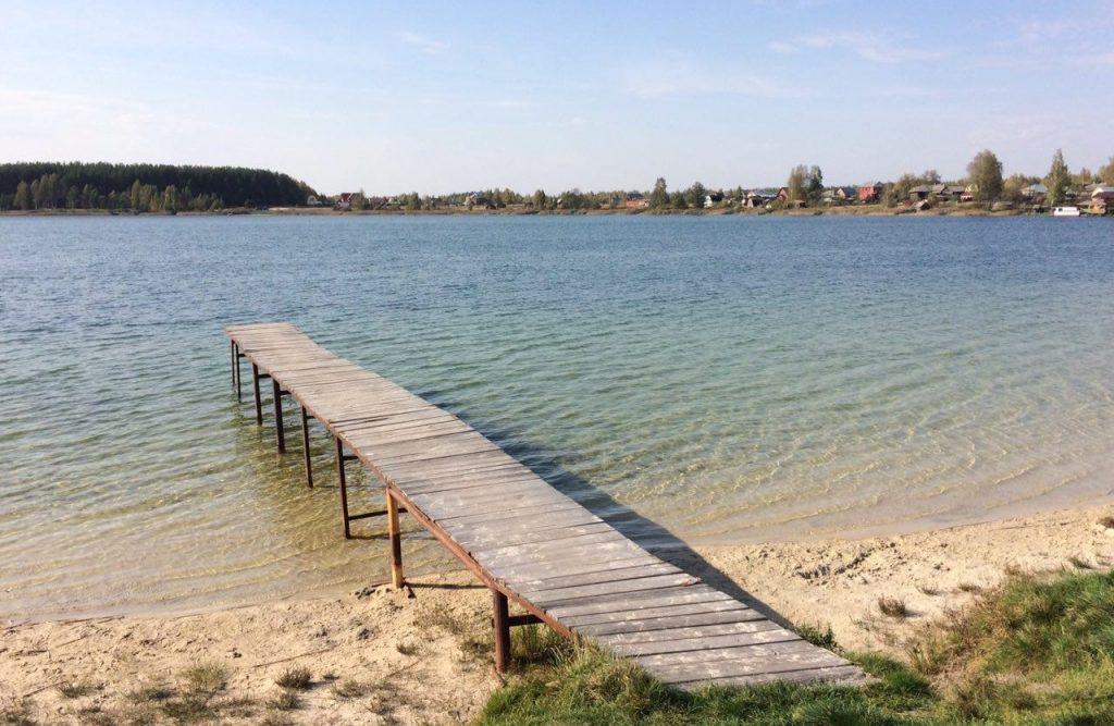 Рыбалка в Рязанской области - озеро Белое