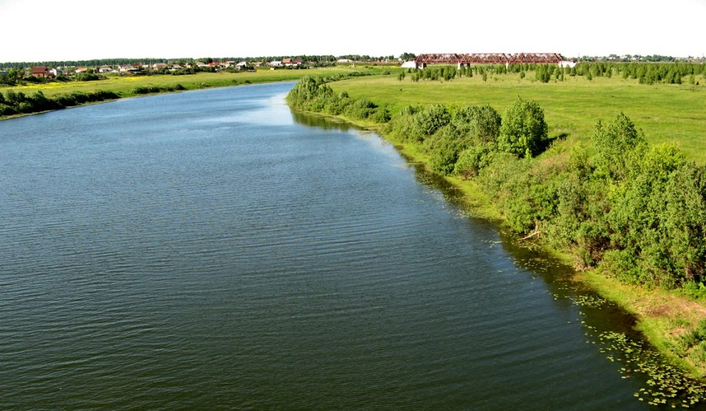 Рыбалка в Рязанской области - река Проня