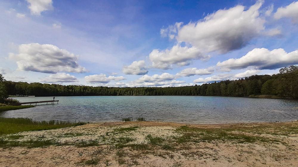 Рыбалка в Брянской области - озеро Бездонное