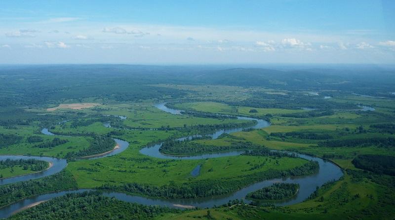 Рыбалка в Томской области - Река Чулым