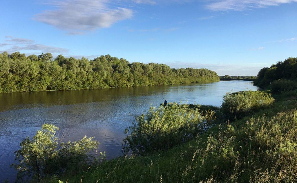 Рыбалка в Тамбовской области - река Цна