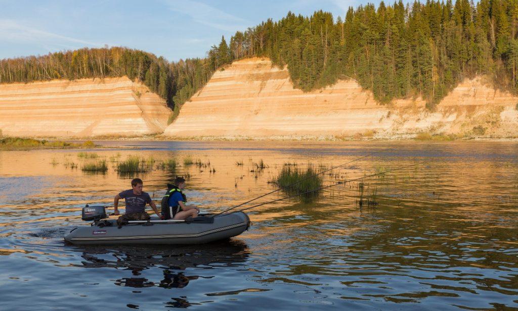 Рыбалка в Вологодской области - Река Сухона
