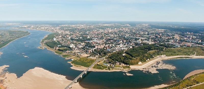 Рыбалка в Томской области - Река Томь