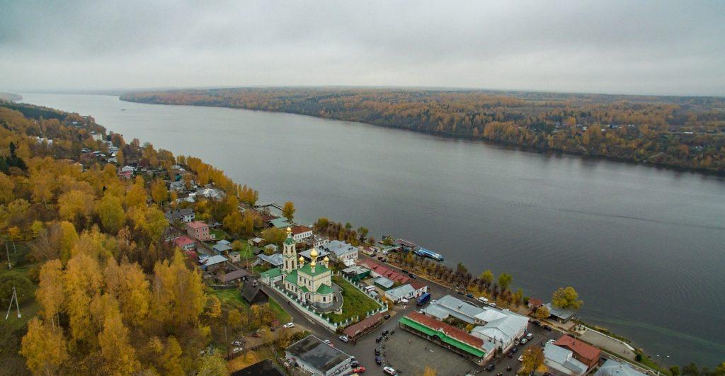 Рыбалка в Костроме - Волга