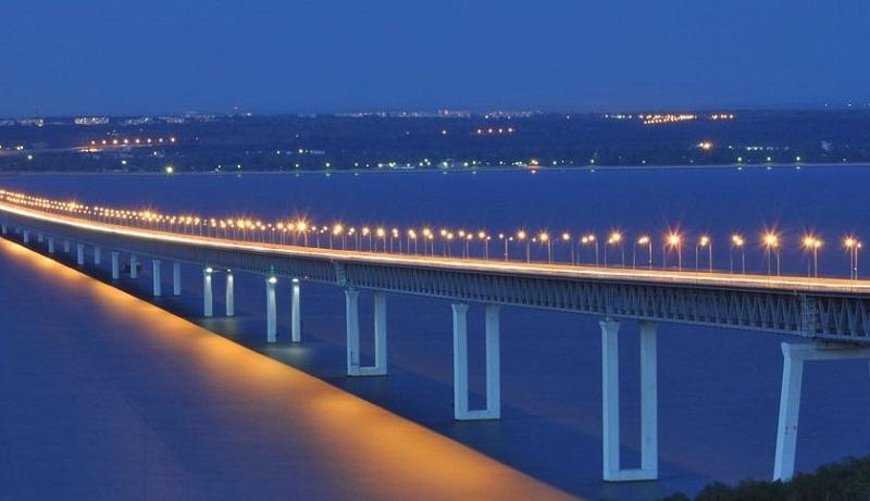 Река Волга в Ульяновске