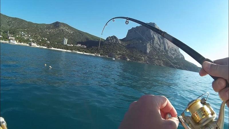 Рыбалка на Чёрном море с лодки